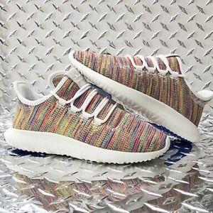Adidas Tubular Shadow Rainbow colorway